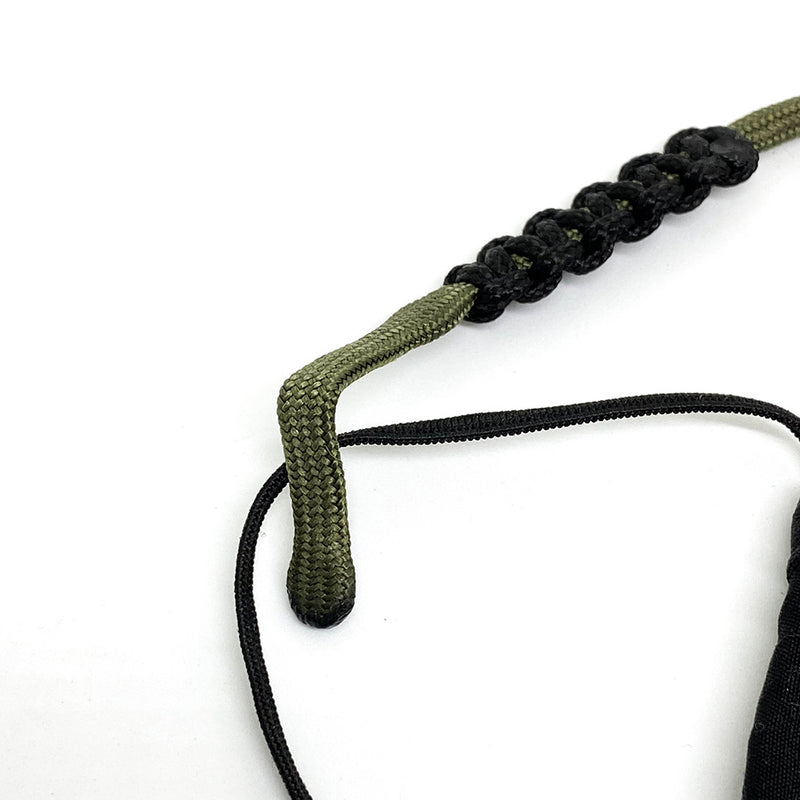 Touchwood | Paracord Mask Lanyard Army Green