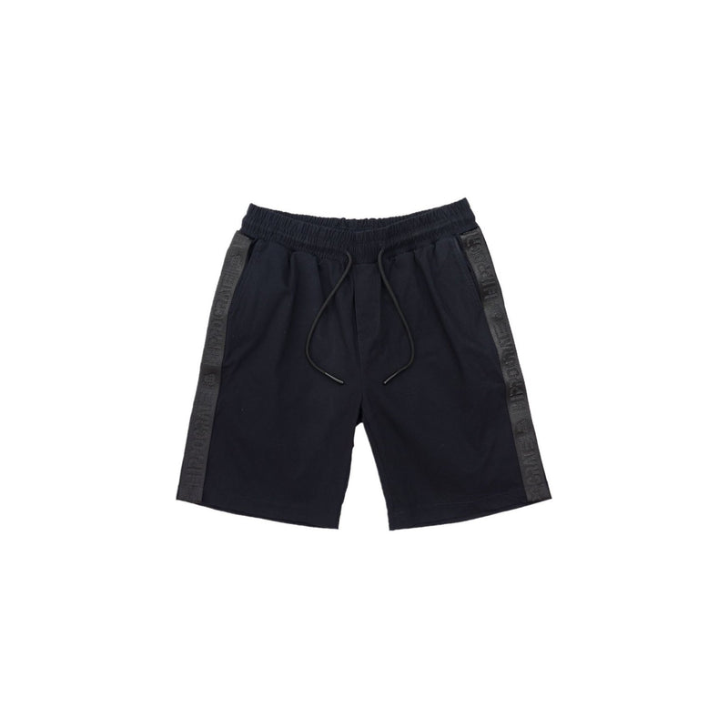 Hippocrate | Classical Strapped Shorts Navy