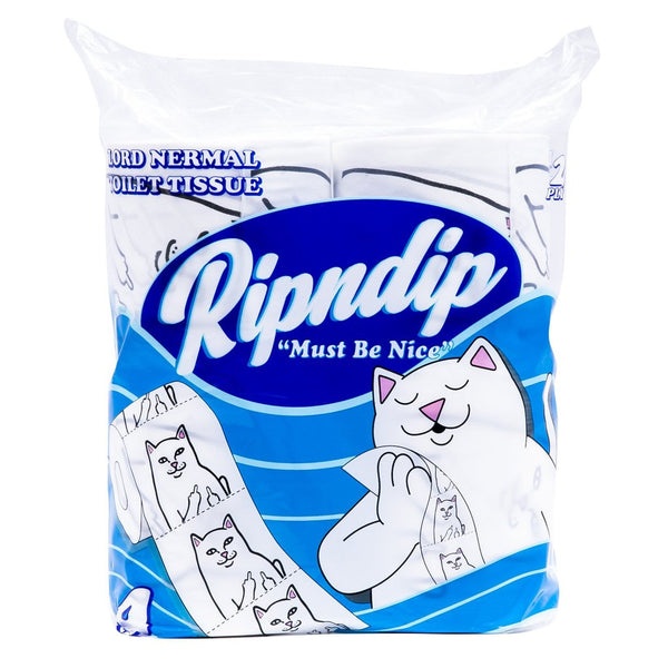 Rip N Dip | Lord Nermal Toilet Paper White