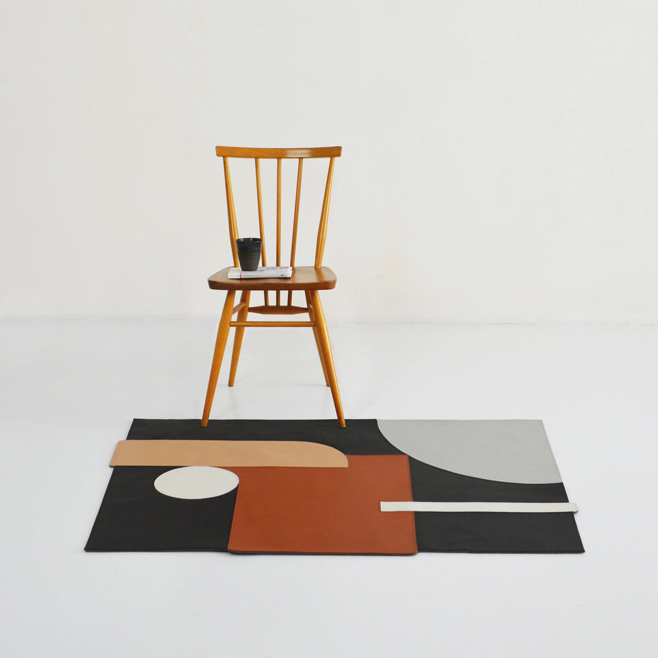 Atmosphere Leather Rug