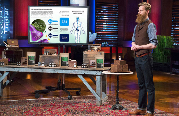 CBD Coffee on Sharktank