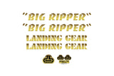SE Big Ripper Decal kit
