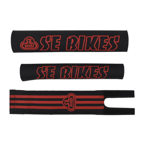 SE Bikes Pad Set Black