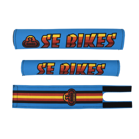 SE Bikes Pad Set Blue