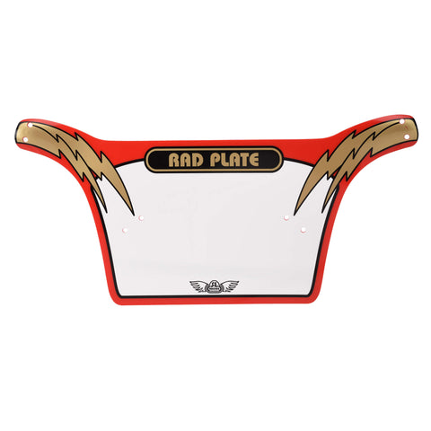 SE Rad Plate Red/Gold