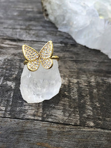 Adonis Butterfly Ring