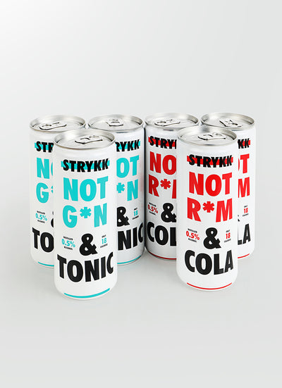 STRYKK Cans - Mixed 6