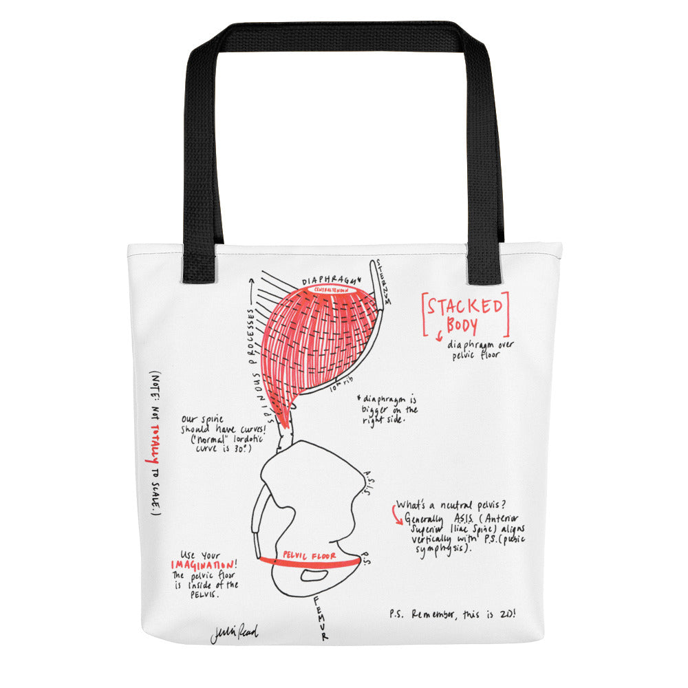 Stacked Body Tote Bag