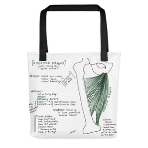 Adductor Magnus Tote Bag