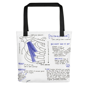 Pectoralis Minor Tote Bag