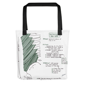 External Oblique Tote Bag