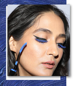 Electric Blue Lashes