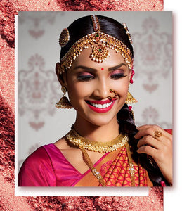 Shraddha Inder Mehta, Celebrity Makeup Artist Tells Us How To Pair Red Lips With Metallic Eyes On Your Wedding Day