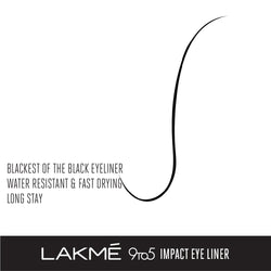 Lakmé 9to5 Black Impact Liner