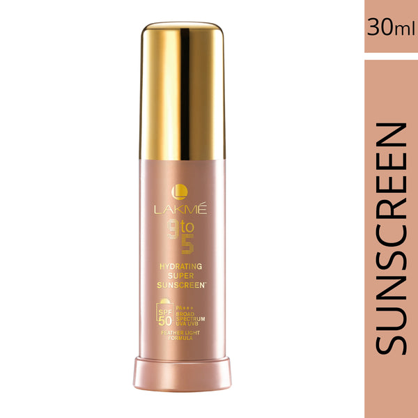 Lakme 9 to 5 Hydrating SPF 50 Super Sunscreen Lotion