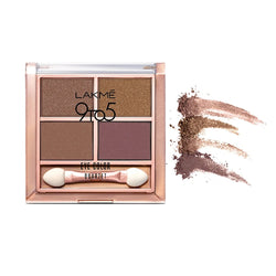 Lakme 9 to 5 Eye Color Quartet Eye Shadow - Mystic Nudes