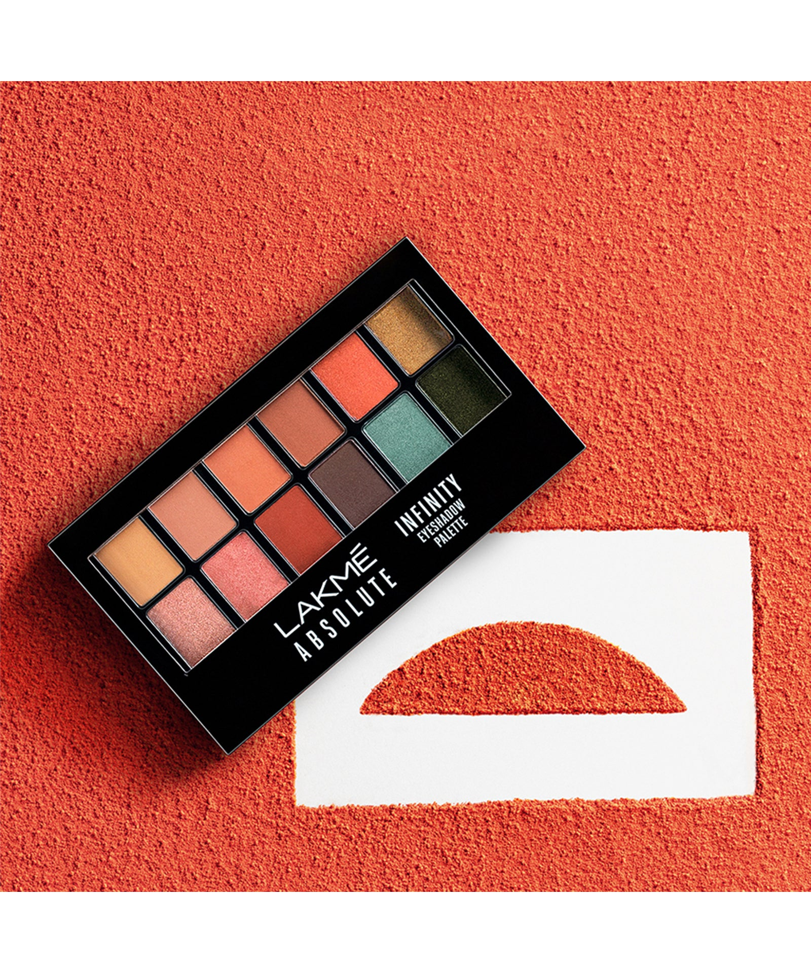 Lakmé Absolute Infinity Eye shadow Pallete - Coral Sunset