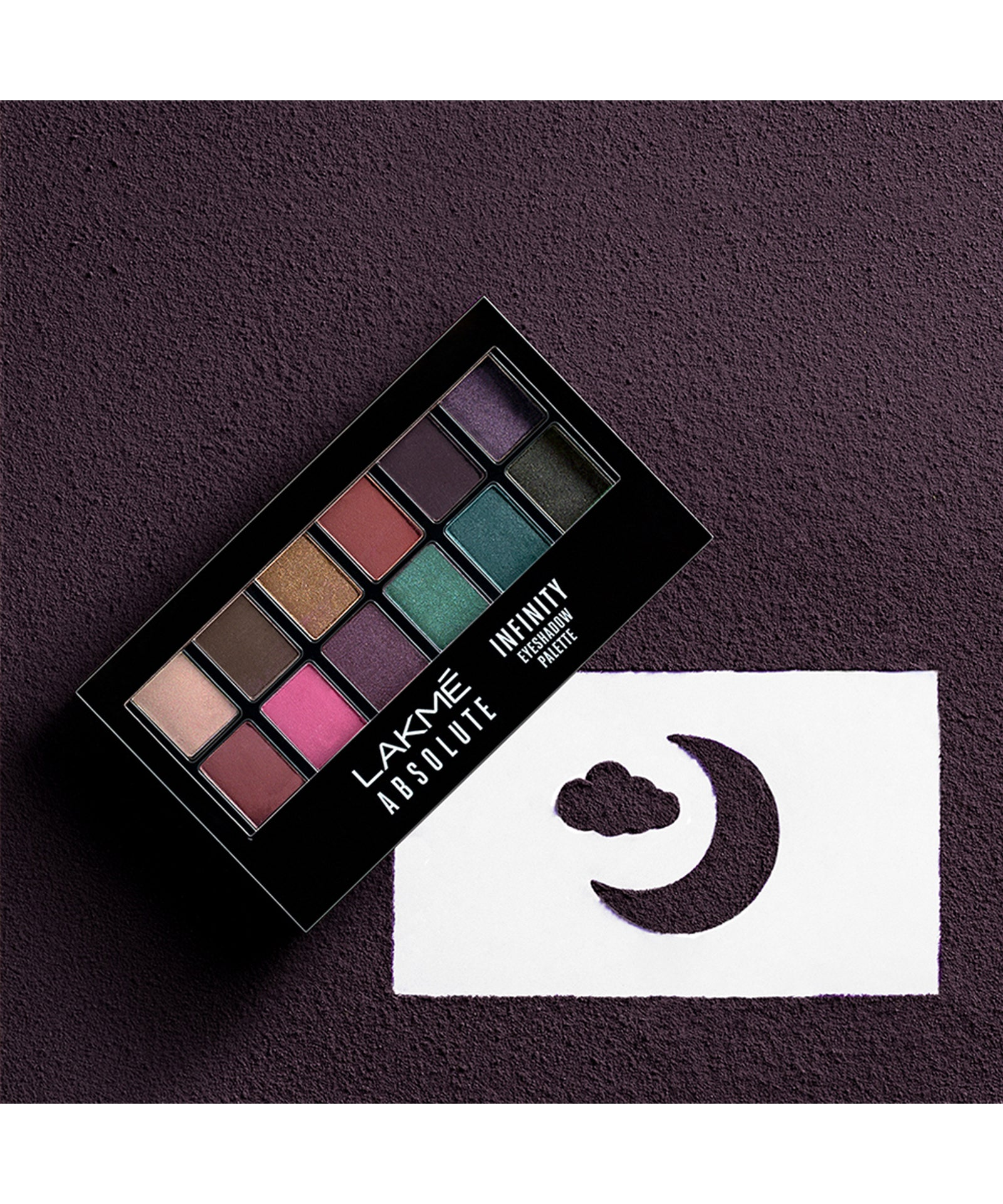 Lakmé Absolute Infinity Eye shadow Palette - Midnight Magic