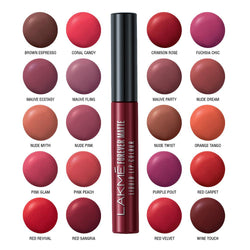 LAKMÉ FOREVER MATTE LIQUID LIP COLOR VALUE SET