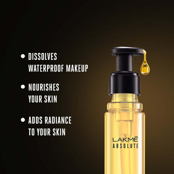 Lakmé  Absolute Argan Oil Radiance Rinse Off Cleansing Oil