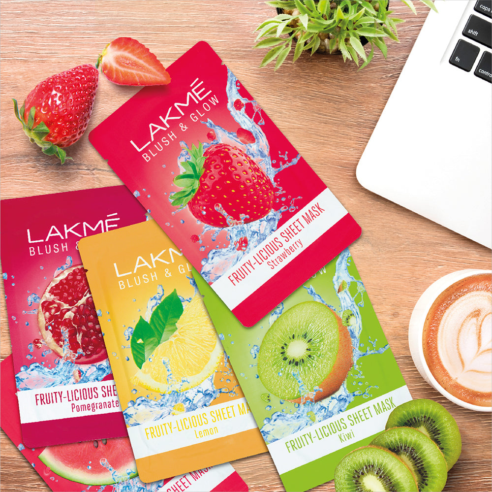 Lakme Blush and Glow Kiwi Sheet Mask
