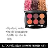 Lakmé Absolute Illuminating Eye Shadow Palette French Rose