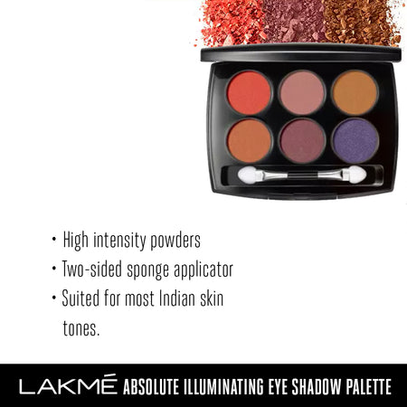 Lakmé Absolute Illuminating Eye Shadow Palette – Nude Beach