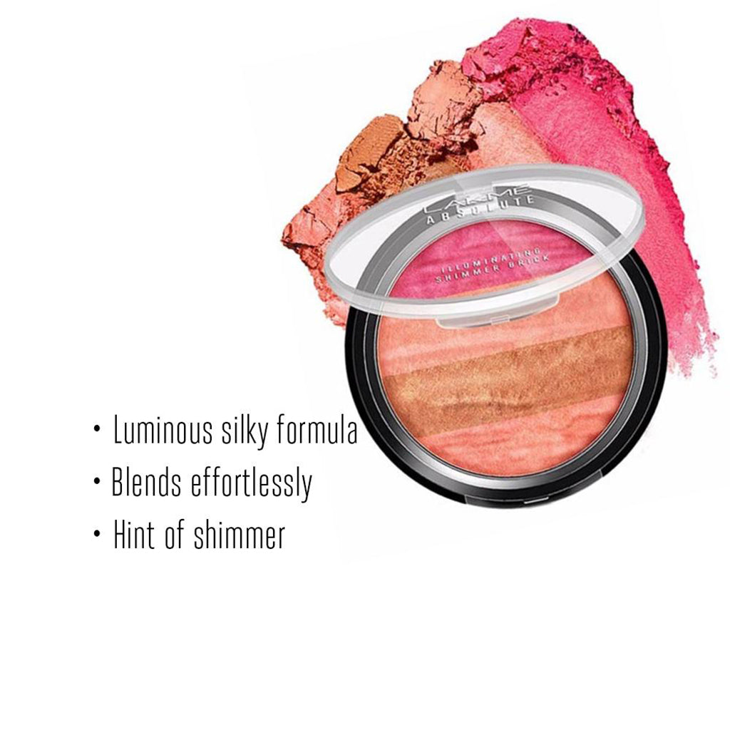 Lakmé Absolute Illuminating Shimmer Brick