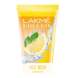 Lakme Blush & Glow Lemon Freshness Gel Face Wash with Lemon Extracts, 100 g
