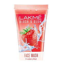 Lakme Blush & Glow Strawberry Freshness Gel Face Wash with Strawberry Extracts, 150 g