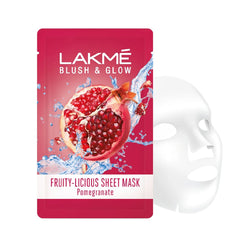 Lakme Blush and Glow Pomegranate Sheet Mask