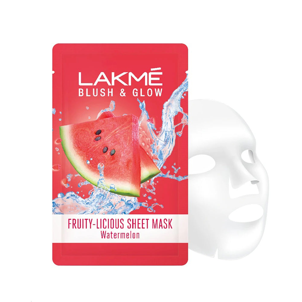 Lakme Blush and Glow Watermelon Sheet Mask
