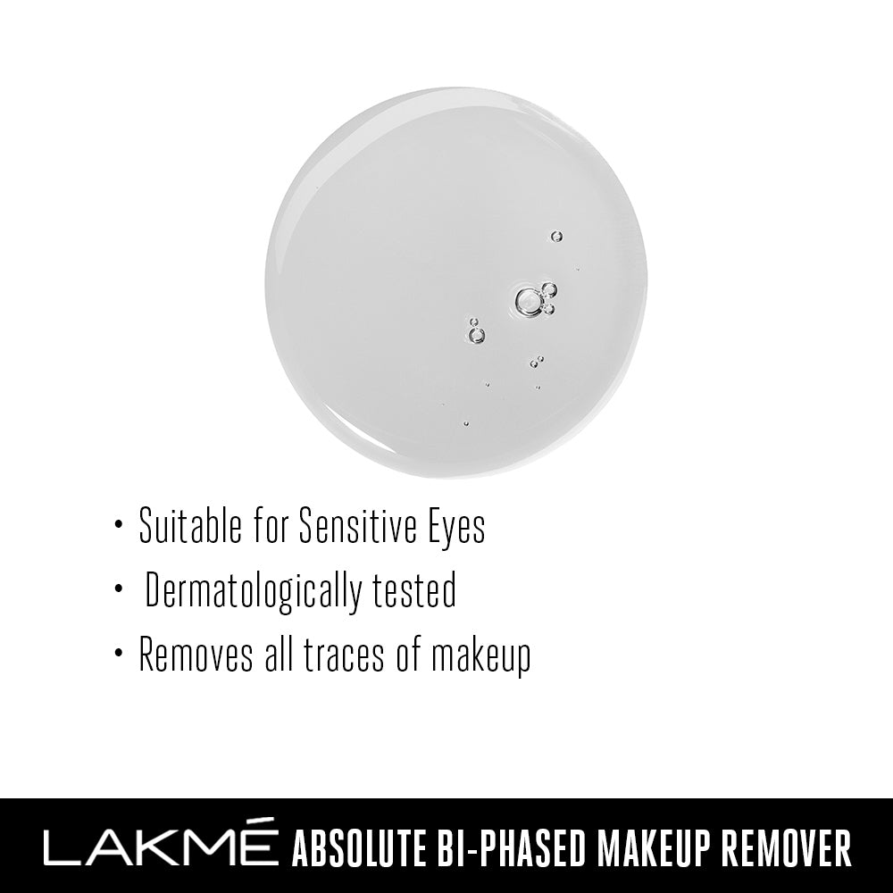 Lakmé Absolute Bi-Phased MakeUp Remover