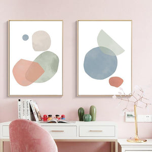 Pastel Abstract Art Print Series - SunCoastSea
