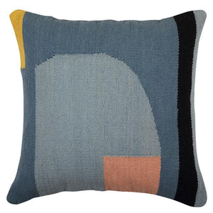 Geo Shapes Fair Trade Cotton Throw Pillow