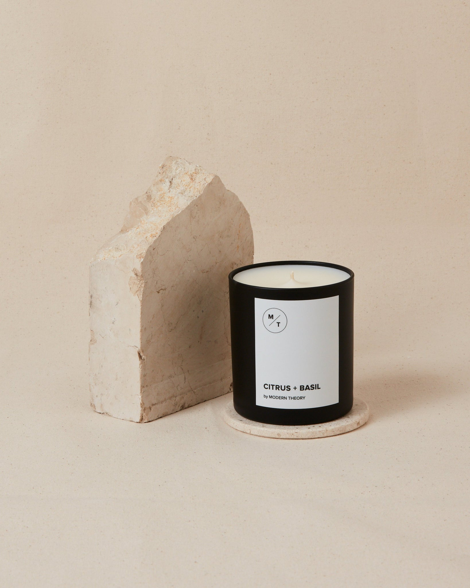 Citrus + Basil Coconut Blend Wax Candle - SunCoastSea