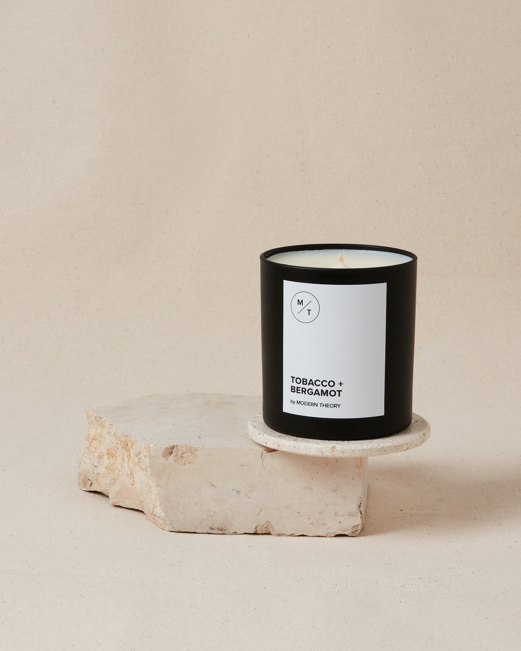 Tobacco Bergamot Coconut Blend Wax Candle - SunCoastSea