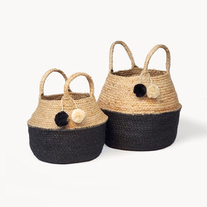 Foldable Basket Bag - SunCoastSea