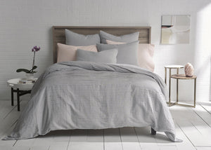Organic Cotton Pleated Duvet Set - SunCoastSea