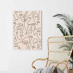 Line Drawing Wall Print - SunCoastSea