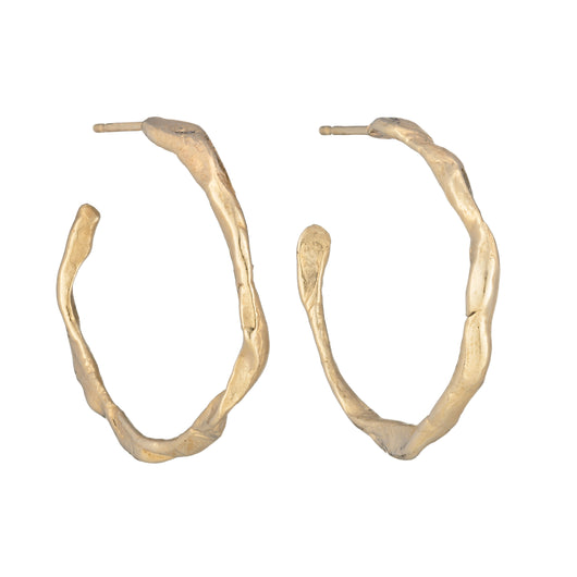 Penzance Hoops 9ct Gold