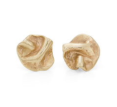 Ripple Studs 9ct Gold