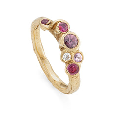 Ruby Sea Whip Ring