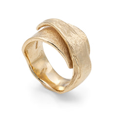 Embrace Granite Ring 9ct Gold