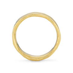 Rock Medium Flat 18ct Gold