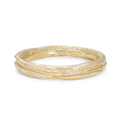 Ripple Fine 9ct Gold