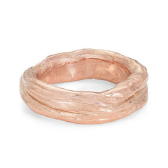 Ripple Heavy 9ct Rose Gold