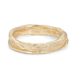 Ripple Medium 9ct Gold