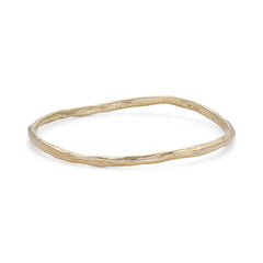 Rock Fine Bangle 9ct Gold