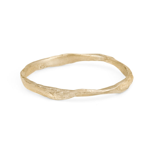 Rock Bangle 9ct Gold